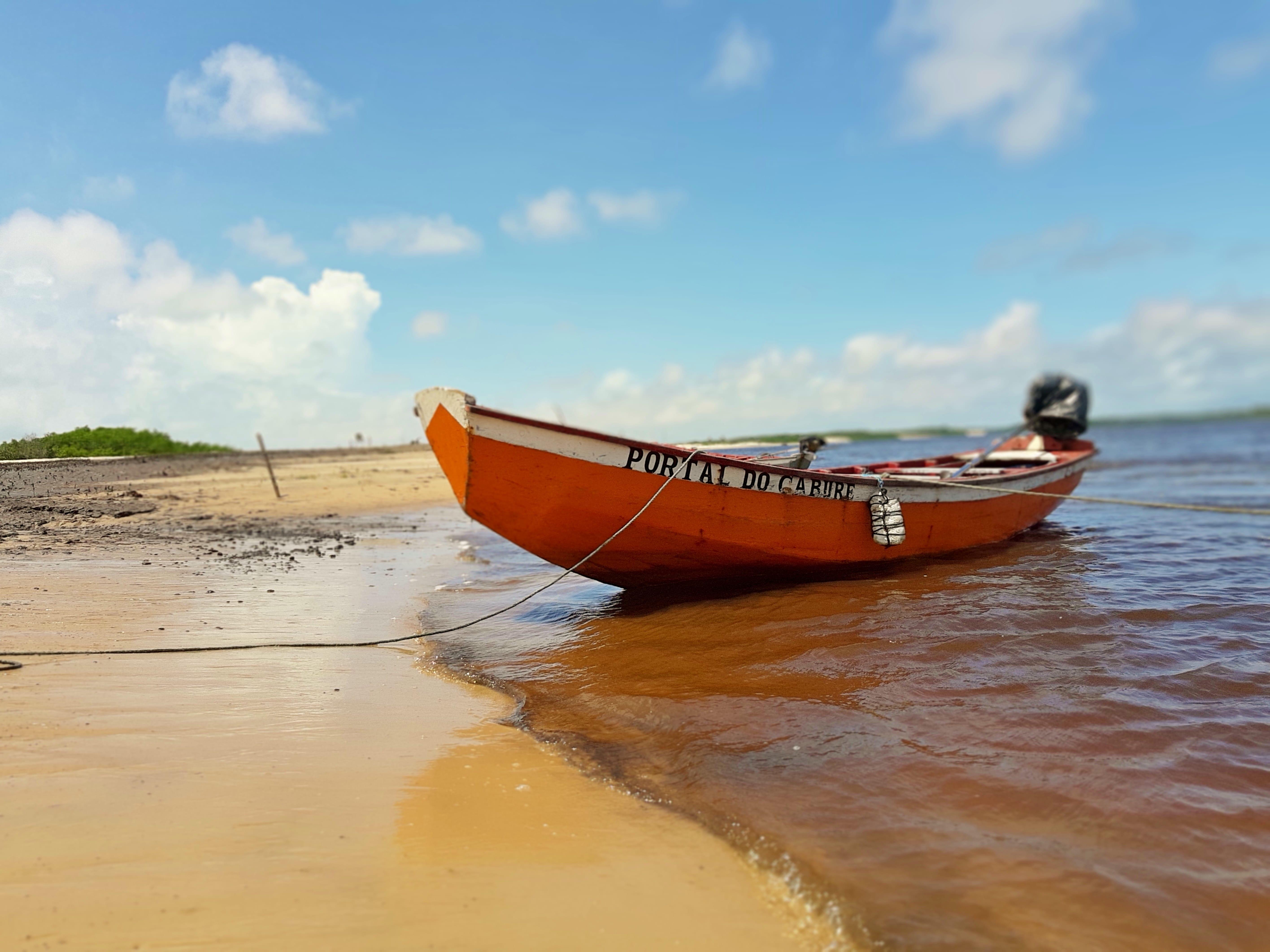 Passeio de barco até Vassouras, Caburé e Mandacaru
