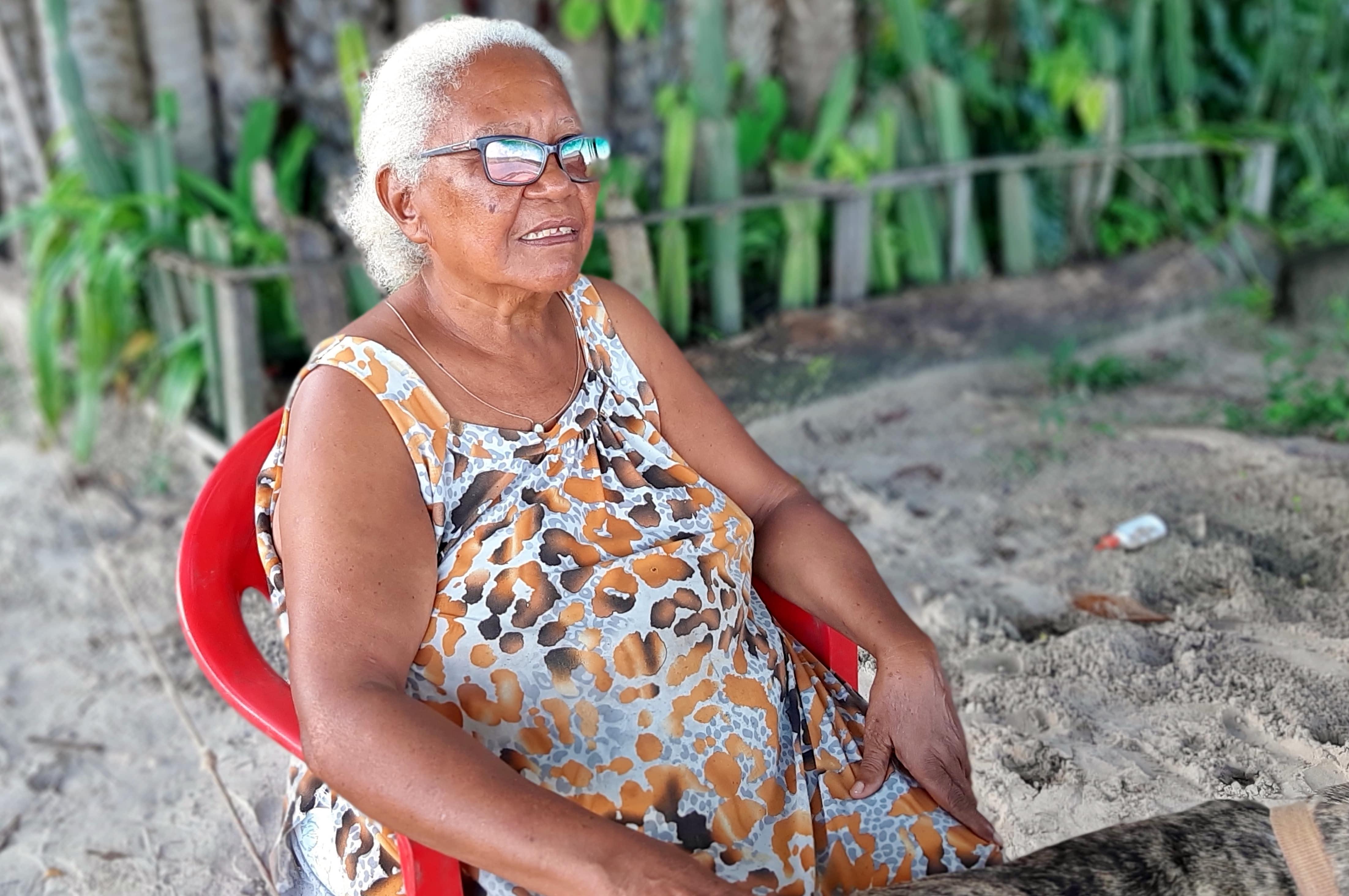 Dona Mocinha: a única moradora da Ilha do Livramento