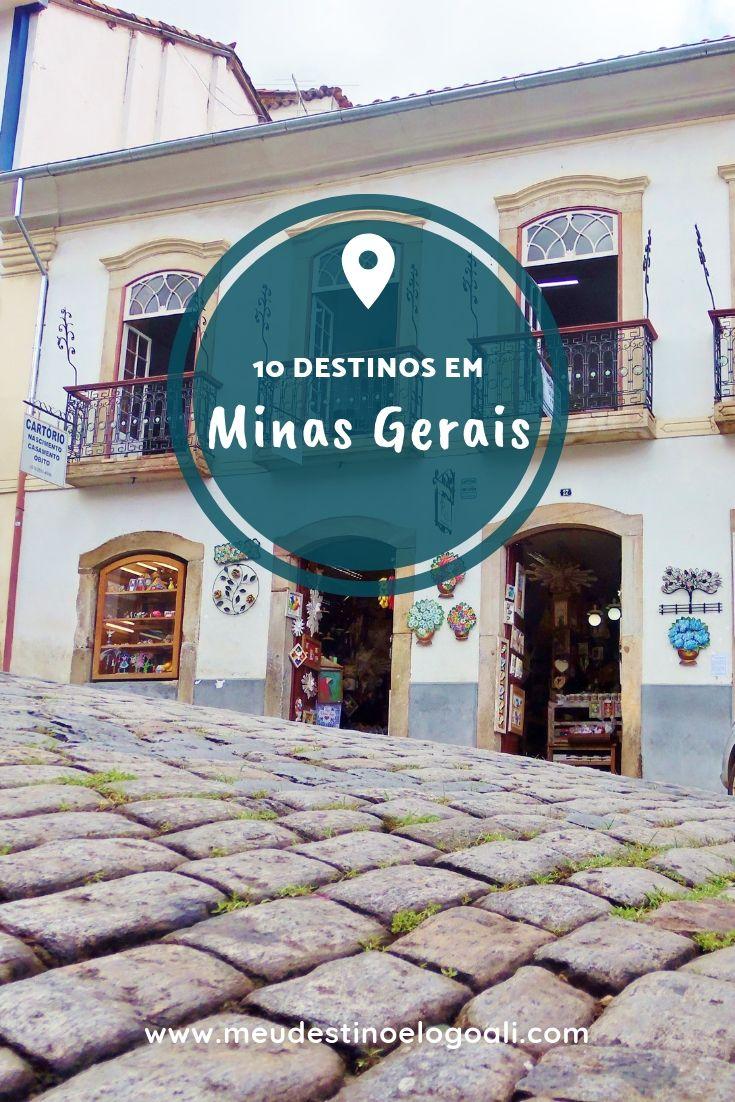 Dicas de Destino em Minas Gerais @meudestinoelogoali